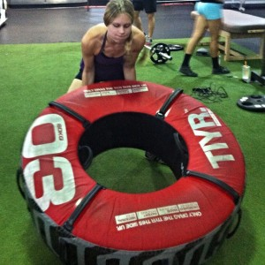 Tire workouts for women
