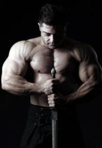 Germany's strongest man vegan