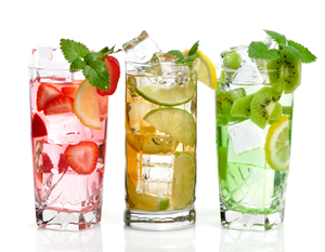 flavored water ideas, hydration