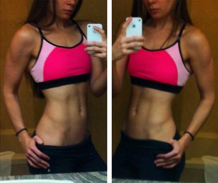women abs, how to get abs, vegan bodybuilding