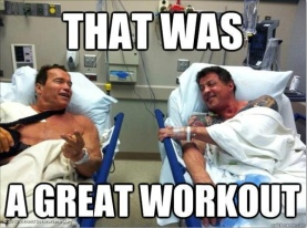 Arnold, gym meme, arnold gym meme, post workout