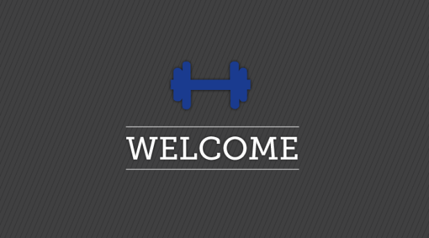 Welcome, Fitness, Welcome Sign