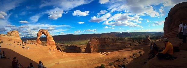 Delicate arch, arches national park, utah, explore utah, panaroma, photography
